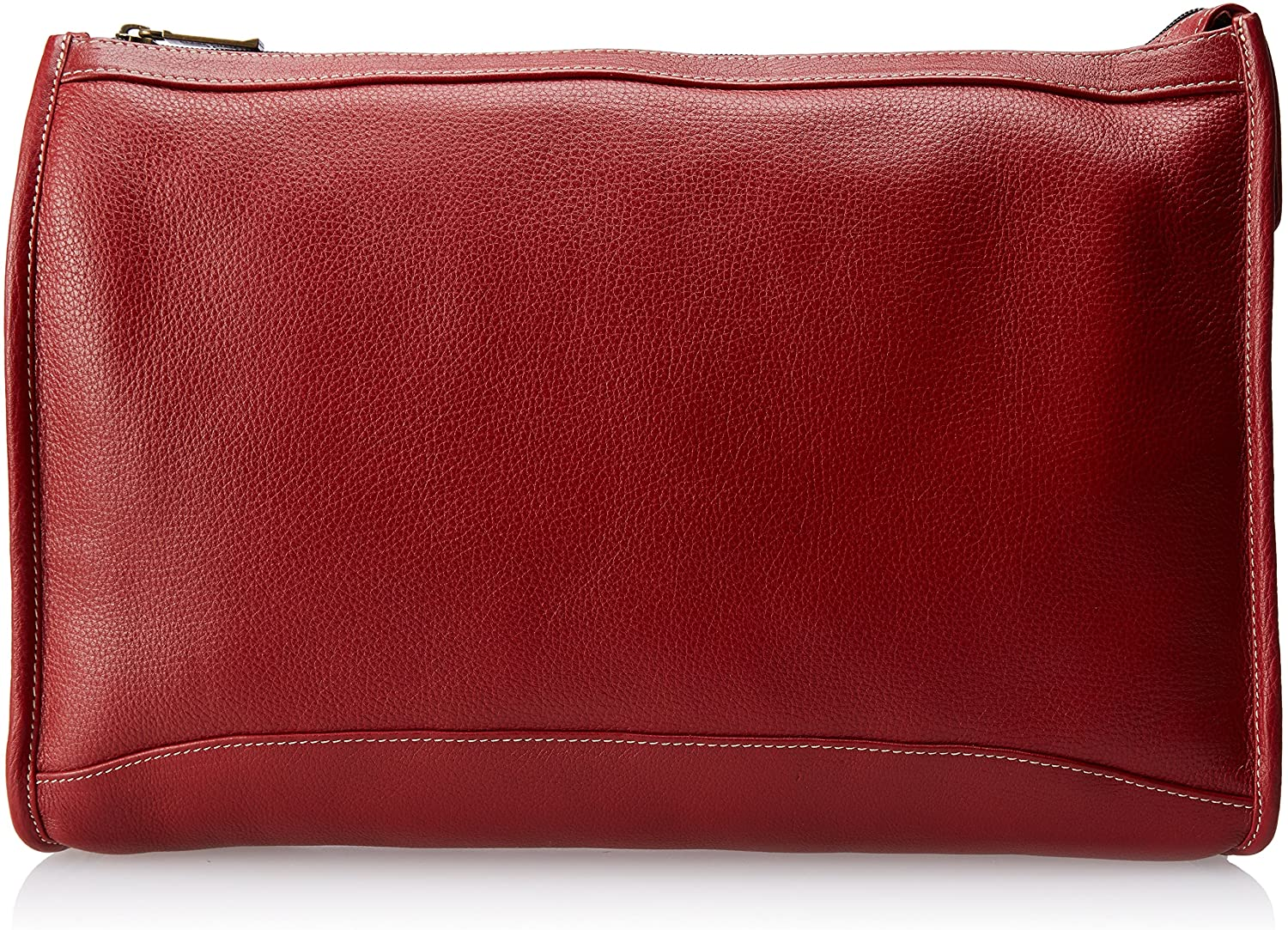 Claire Chase Zippered Folio Pouch, Red, One Size  Claire Chase  Clothing