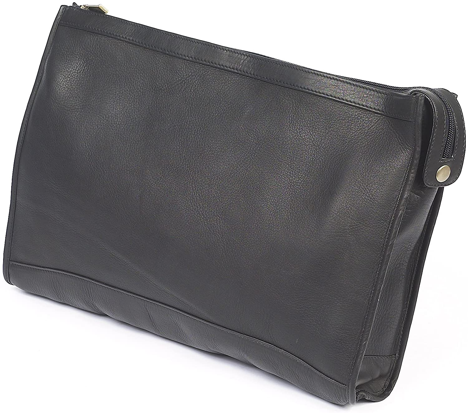 Claire Chase Zippered Folio Pouch, Black, One Size  Claire Chase  Clothing