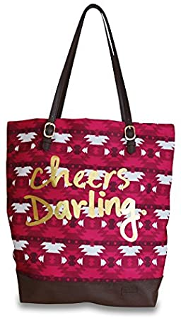 Sloane Ranger Aztec Cheers Tote.  Clothing