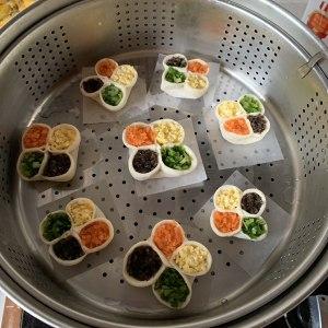 4つの幸せなイベントの蒸しdump子-このdish子の皿、猫を出して欲しい 袋の能力のおいしさ!練習対策7