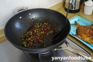 豊かな10を燃やす乾燥魚のGanShao Fishの練習対策