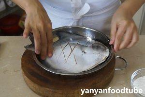 豊かな3を燃やす乾燥魚のGanShao Fishの練習対策